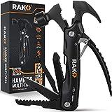 RAK Hammer Multi-Tool - Multi-Functional 12 in 1 Mini Hammer Camping Gear Survival Tool for Men, DIY Handyman, Father/Dad, Husband, Boyfriend, Him, Women
