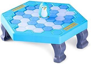 kelebin Save Penguin Trap Ice Breaker Game Blocks Toy Table Game Cute Interesting for Children Kids Gift