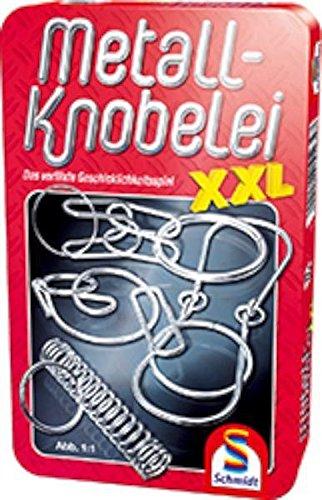 Schmidt Spiele 51234 Metall-Knobelei XXL, Bring Mich mit Spiel in der Metalldose