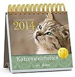 Katzenweisheiten 2014: Postkartenkalender