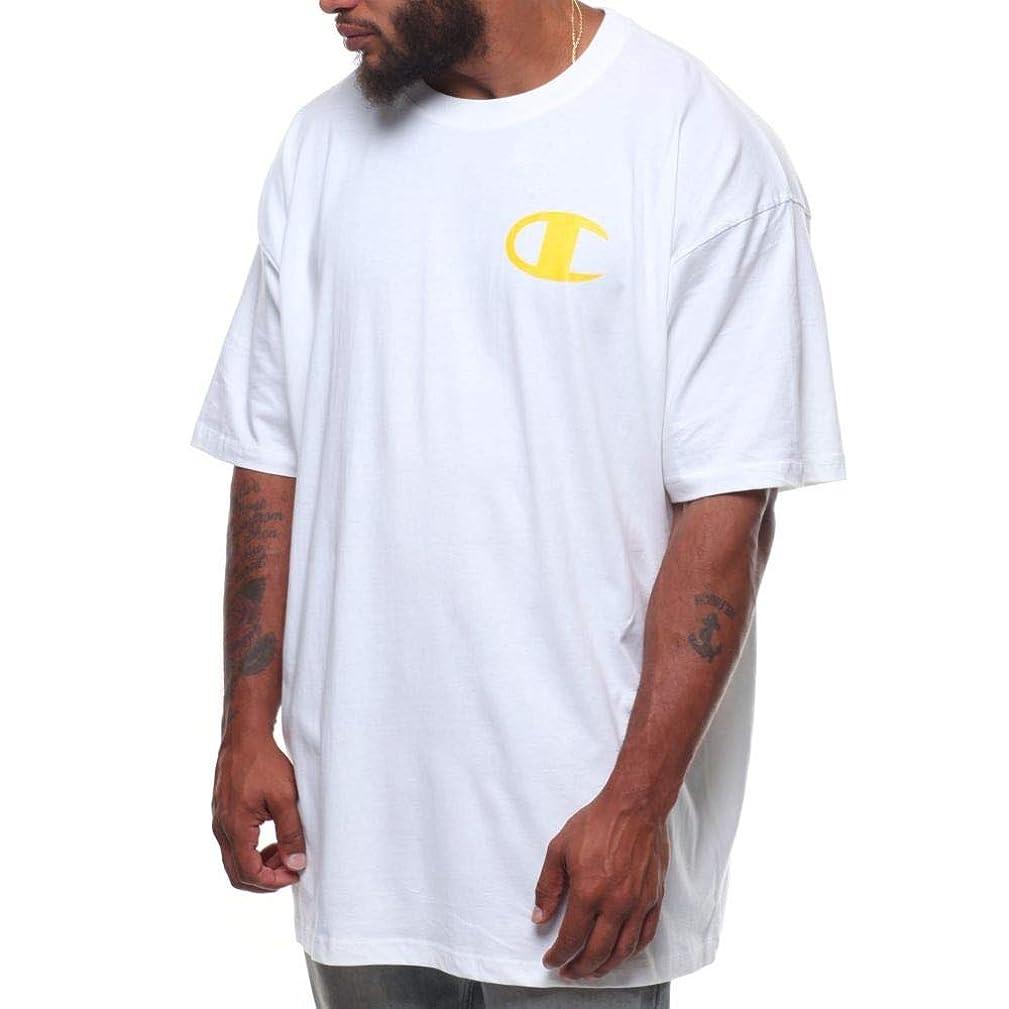 平和な舌コーヒー(チャンピオン) Champion メンズ トップス Tシャツ s/s logo tee (b&t) [並行輸入品]