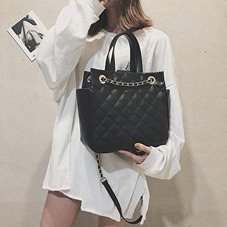 WANGZHAO Rhombus Chain Bag Women's Bag Fashion Bag