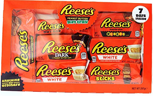 Reese's Peanut Butter Chocolate Lovers Tray 7Pc Gift Selection Box 2020 297g