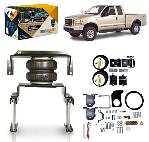 TORQUE Air Bag Suspension Kit for 1999-2004 Ford F250 F350 and 2008-2010 Ford F250 F350 [up to 5,000 lbs. of Load Leveling Capacity] (Replaces Firestone 2550 Ride-Rite) (TR2550)