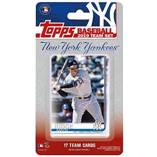 New York Yankees 2019 Topps Factory Sealed 17 Karten Limited Edition Team Set mit Aaron Judge und Gary Sanchez Plus
