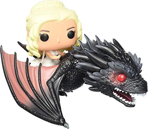 Funko - Pop Rides - Got - Drogon y Daenerys-Estándar