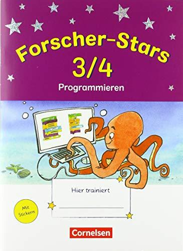 Forscher-Stars - Sachunterricht - 3./4. Schuljahr: Programmieren - Übungsheft - Mit Lösungen