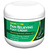 MagniLife Pain Relieving Foot Cream, All-Natural Moisturizing Foot Pain Relief with Beeswax and Eucalyptus to Soothe Soreness, Burning, Tingling, and Sensitivity - 4oz