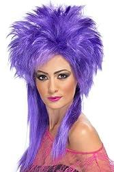 Groovy Purple Punk Wig