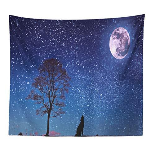 Xmiral Tapisserie Natürlich Landschaft Yogamatte Picknickdecke Wandteppich 130X150cm Wanddeko(X)