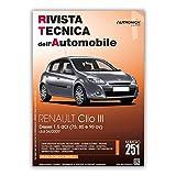 Manuale di Riparazione RTA 251 RENAULT CLIO III fase 2 (2009 - 2014) - Diesel