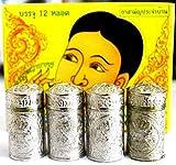 4 X Jarungjit Ancient Nasal Inhaler Herbal Relief Dizziness Faint Sinus