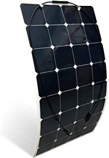 Panel Solar Flexible Monocristalino 150W 12V Capa ETFE - Barco, Camping, Coche y Auntocaravana - PlusEnergy