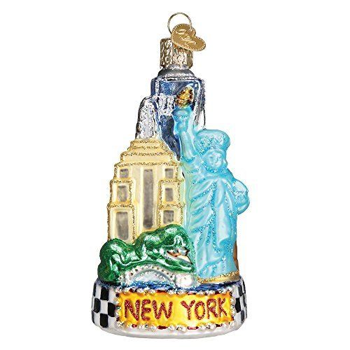 Old World Christmas New York City Glass Blown Ornament by Old World Christmas