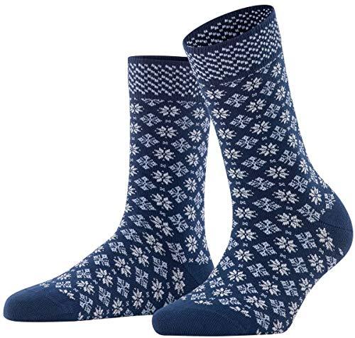 ESPRIT Damen Norwegian W SO Socken, blau (Marine 6120), 35-38 (UK 2.5-5 Ι US 5-7.5)