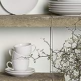 vivo by Villeroy & Boch Group - New Fresh Basic Kaffee-Set, 18 tlg., für bis zu 6 Personen, Premium Porzellan, spülmaschinen-, mikrowellengeeignet, Weiß - 3