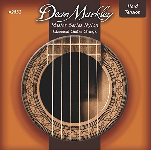 Dean Markley 2832 HT 28-44 Master Series Nylon Saiten, rot