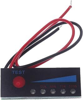 Testador de bateria indicador de capacidade da bateria 3,7 V 2S-4S 18650 Lítio 12 V Chumbo-ácido