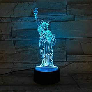 Murale éclairage de new york Lampe murale Lampe statue de la liberté Amérique