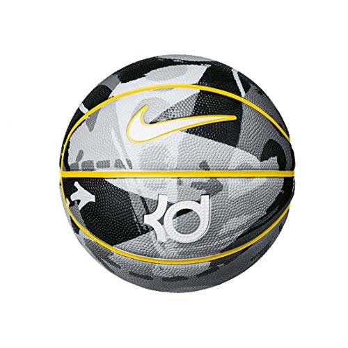 Nike KD Kevin Durant Playground 8P Basketball Full Size (Black/Wolf Grey/Amarillo/White)