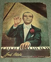A SUPERB BRIGHT COLOR POSTER OF THE GREAT CLASSICAL PIANIST JOSE ITURBI: