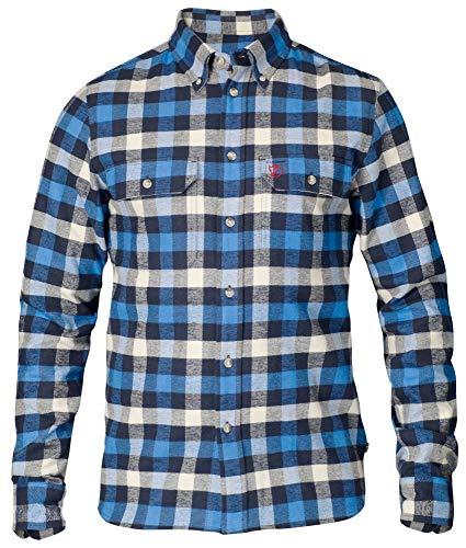 FJÄLLRÄVEN Skog Shirt M T-Shirt à Manches Longues Homme Un Blue FR : S (Taille Fabricant : S)