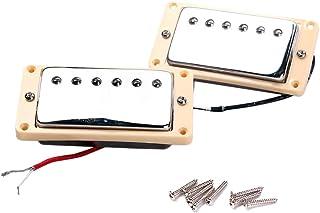 Healifty Pastillas de guitarra Humbucker, doble bobina Humbucker pastillas y tornillos para guitarra eléctrica
