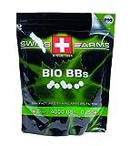 Swiss Arms Billes Bio Blanche 0,25 gr Sac de 1 kg