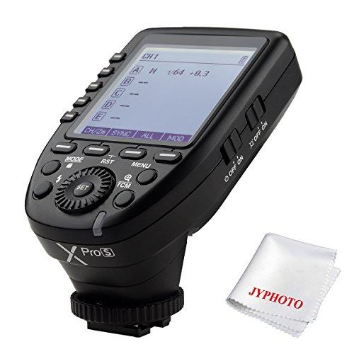 Godox Xpro-S TTL Wireless Blitzauslöser für Sony DSLR Kamera 2.4G Wireless X System Fernauslöser 1 / 8000s HSS TTL-Convert-Manuelle Funktion Großer...