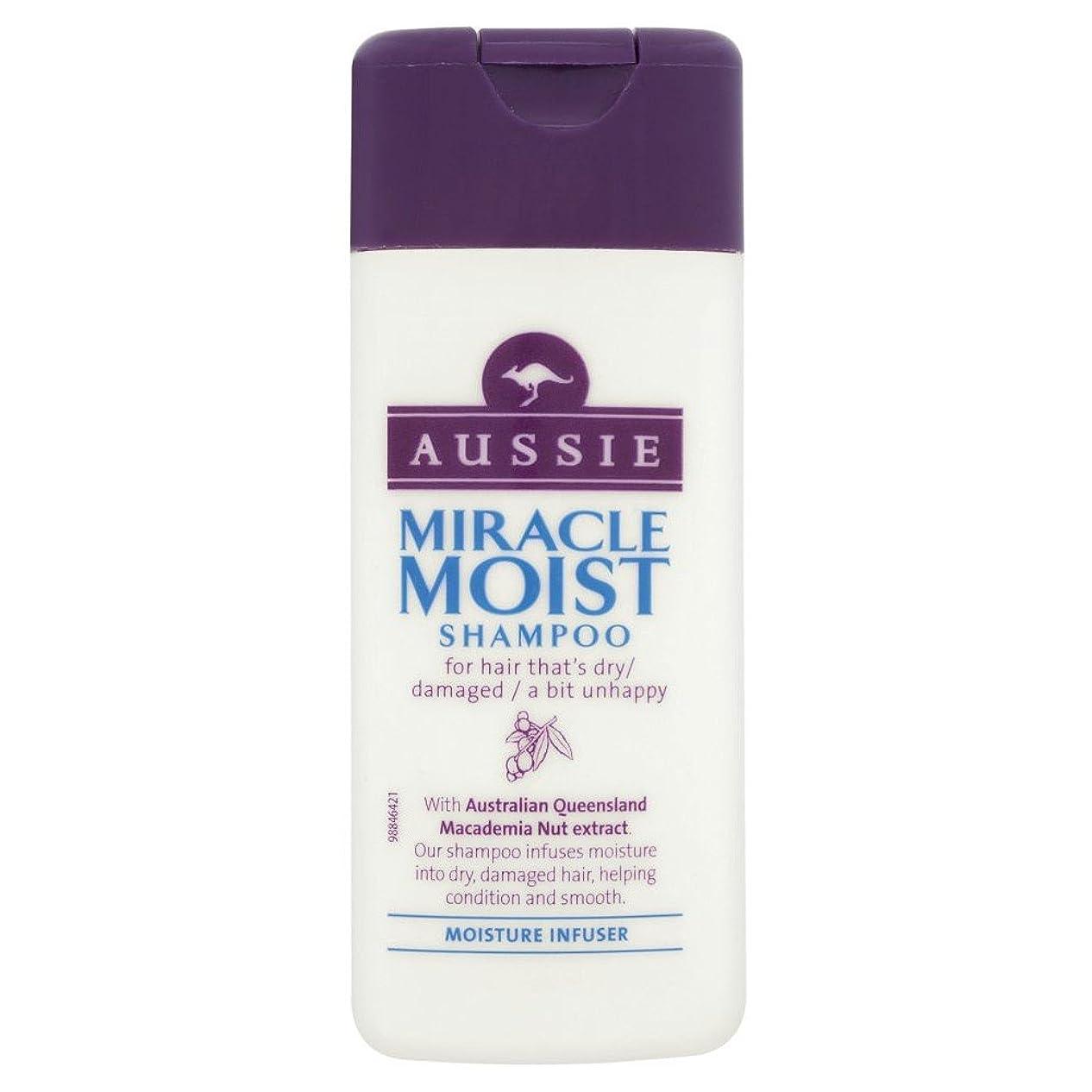 母音配列オアシスAussie Miracle Moist Shampoo (75ml) オージー奇跡湿ったシャンプー( 75ミリリットル) [並行輸入品]