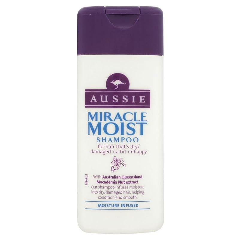 大量動員するすりAussie Miracle Moist Shampoo (75ml) オージー奇跡湿ったシャンプー( 75ミリリットル) [並行輸入品]