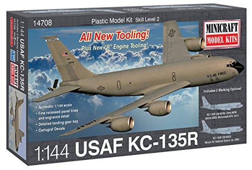 Minicraft Models Dempsey Designs Morceau 1/144 Boeing kc-97g 135r 014708 USAF Kit de modèle en Plastique