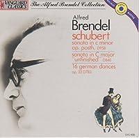 Alfred Brendel Schubert: Piano Sonata in C minor Op. posth. D958, Sonata in C major 'Unfinished' D840, & 16 German Dances D783 by Schubert