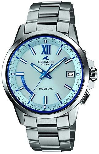[カシオ] 腕時計 オシアナス 電波ソーラー OCW-T150-2AJF シルバー