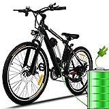 Bicicletta Elettrica City Bike pieghevole a Pedalata Assistita, Ruote 26'', Velocità 25km/h, 36V...