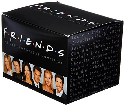 Caixa Friends Preta, 1 A 10 Temporadas Completas [DVD]