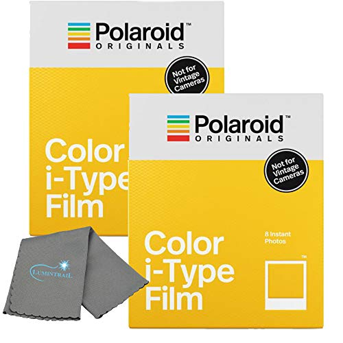 Purchase Polaroid Originals Instant Color Film for i-Type Cameras 2 Pack, 16 Instant Photos Bundle w...