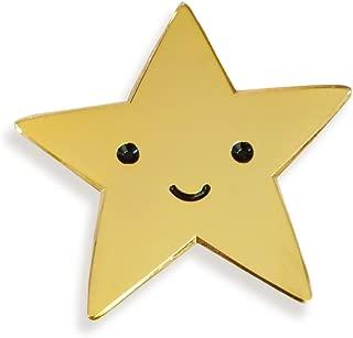 Gold Star Enamel Pin