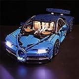 VONADO Led Light Set for 42083 Compatible 20086 Bugatti Chiron Technic Race Car Toys (Lights Only)