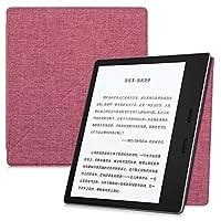 電子書籍の専用保護ケース、 場合のKindleのオアシス第9世代2017リリース - 強い吸着軽量スマートカバー付きオートスリープ/スリープ解除 (Color : Fabric Water red)