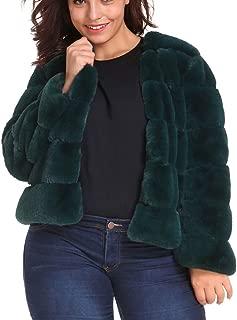 Fashion Winter Womens Warm Short Faux Fur Casual Coat Jacket Parka Outerwear