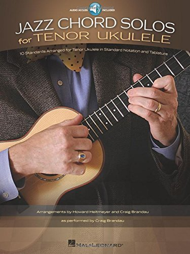 [[Jazz Chord Solos For Tenor Ukulele (Book/Online Audio)]] [By: x] [December, 2012]