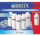 Brita 101931 Confezione di 5 Cartucce e 1 in Omaggio