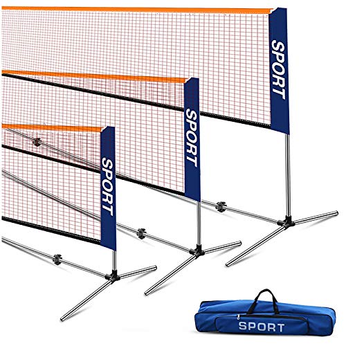 Ulalov Badminton Net Set, 17FT B...