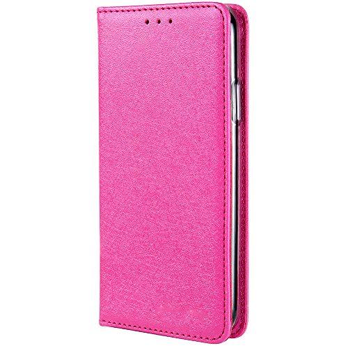 HARRMS iPhone XR Telefoonhoesje met portemonnee met creditcardvakje geldklemmen leren hoes telefoonvak magneet beschermhoes