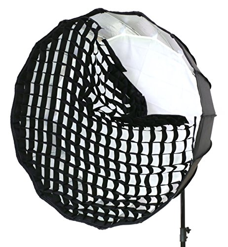 Godox Honeycomb Grid for Godox P90L P90H and Aputure Light Dome 35.4 inch 16 Rods Octagon Parabolic Softbox - Only Grid