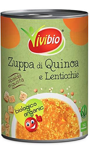 Vivibio Zuppa di Quinoa e Lenticchie Bio - 400 g