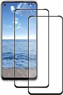 واقي شاشة TenDll لهاتف Xiaomi Poco M3، واقي شاشة زجاجي شفاف سهل التركيب من أجل Xiaomi Poco M3. أسود (عبوتان)