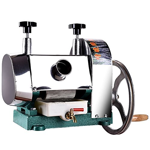 ZX Manual Stanless Steel Sugarcane Juicer Sugar Cane Extractor Squeezer 110lbs Per Hour