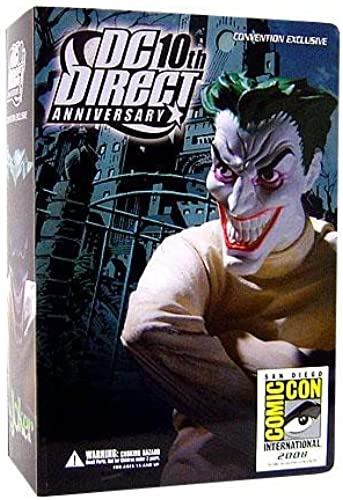 DC Direct 10th Anniversary SDCC 2008 JOKER Action Figure